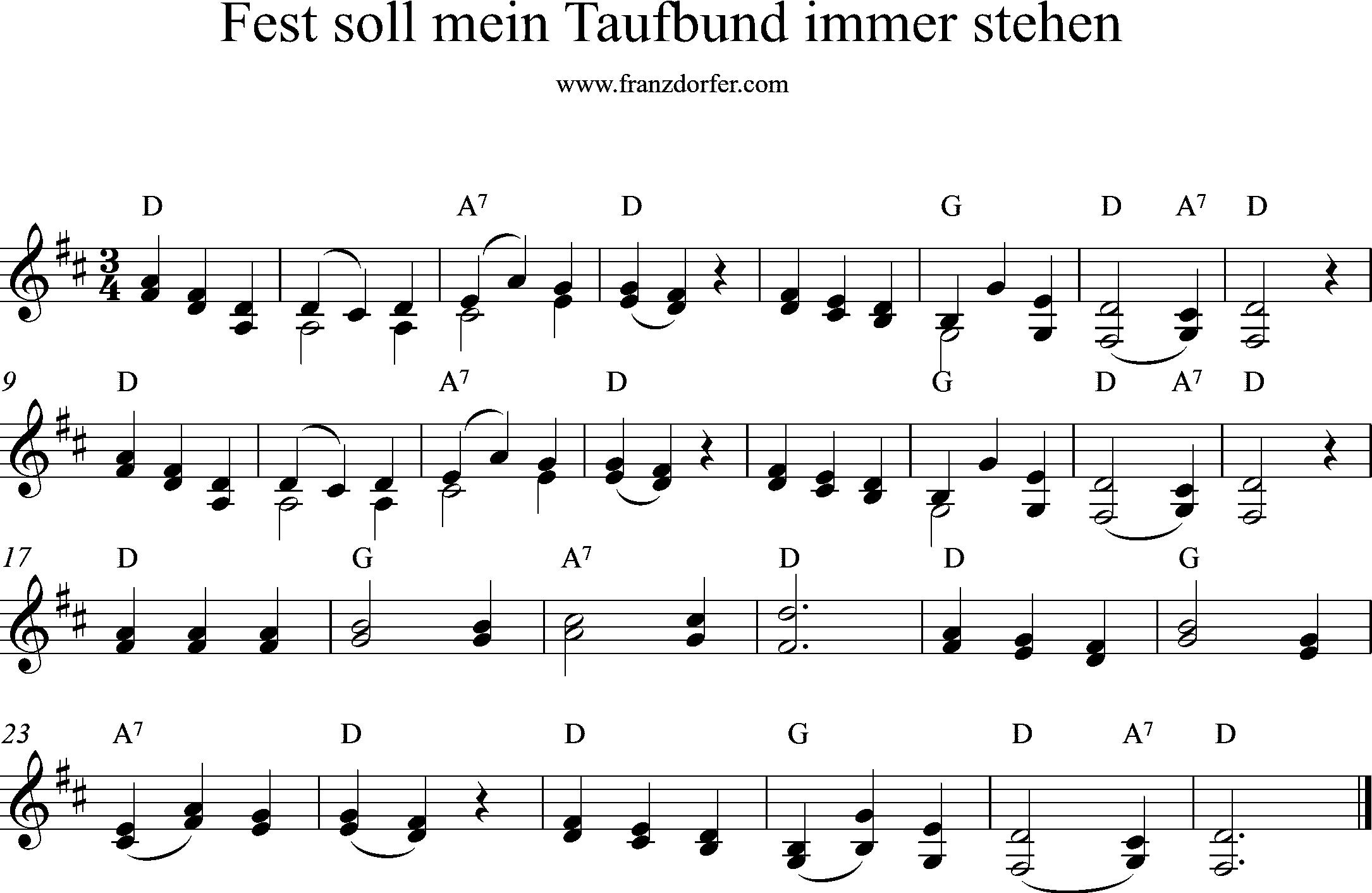 Fest Soll Mein Taufbund Immer Stehen Gotteslob Katholisch