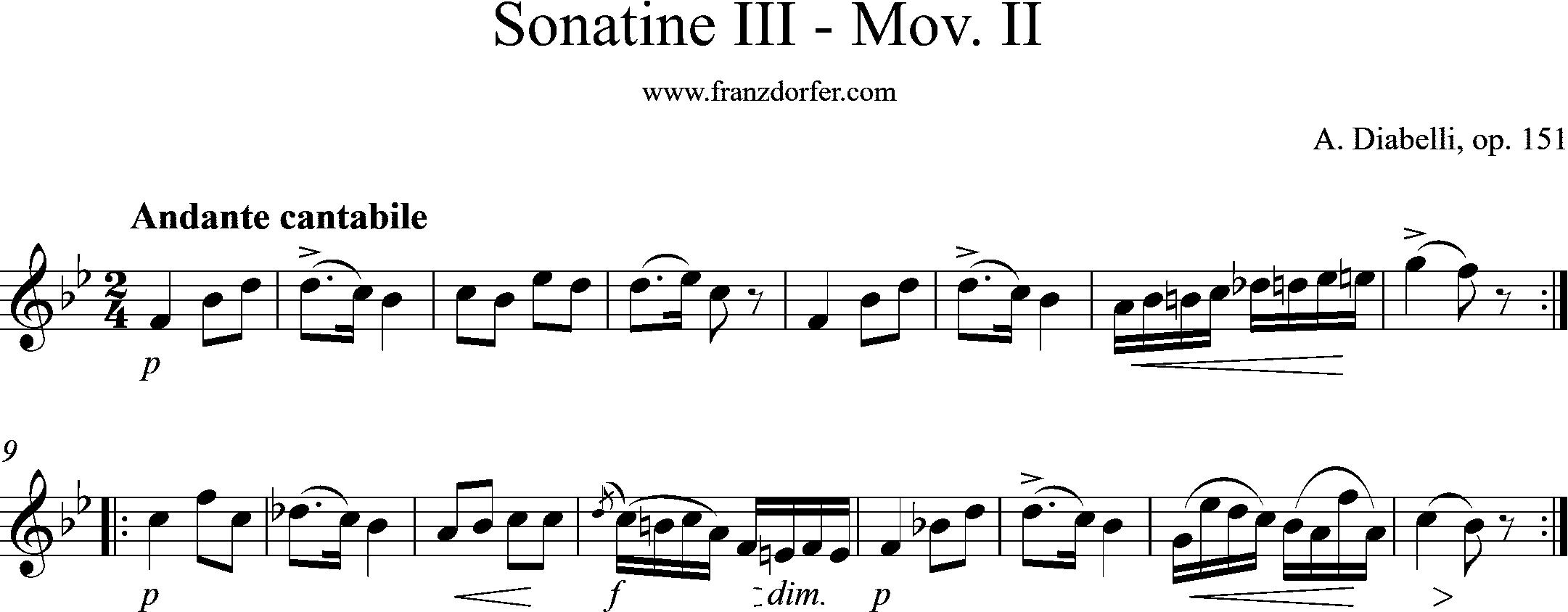Mov-II- Diabello op151-III