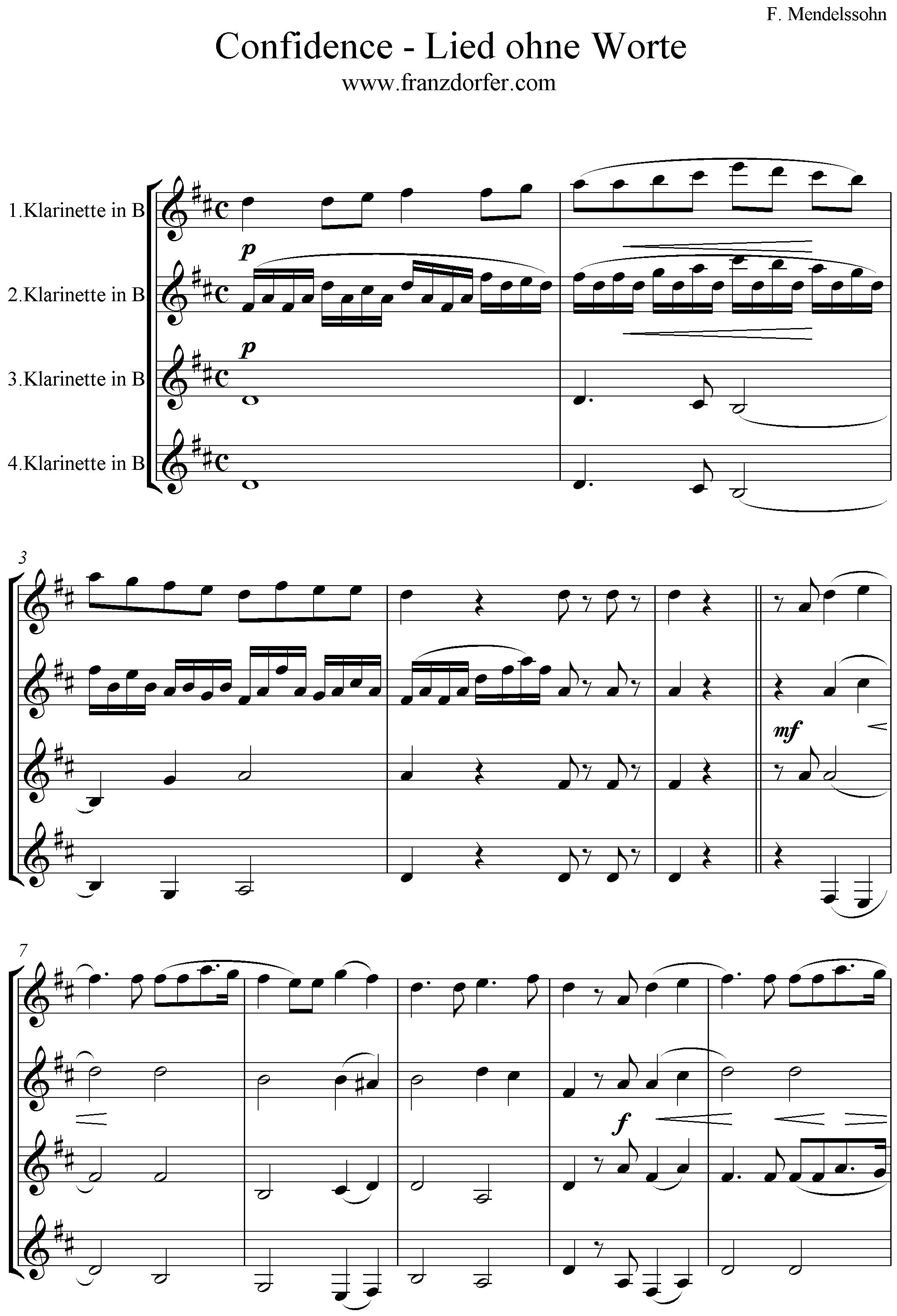 Lied ohne Worte
