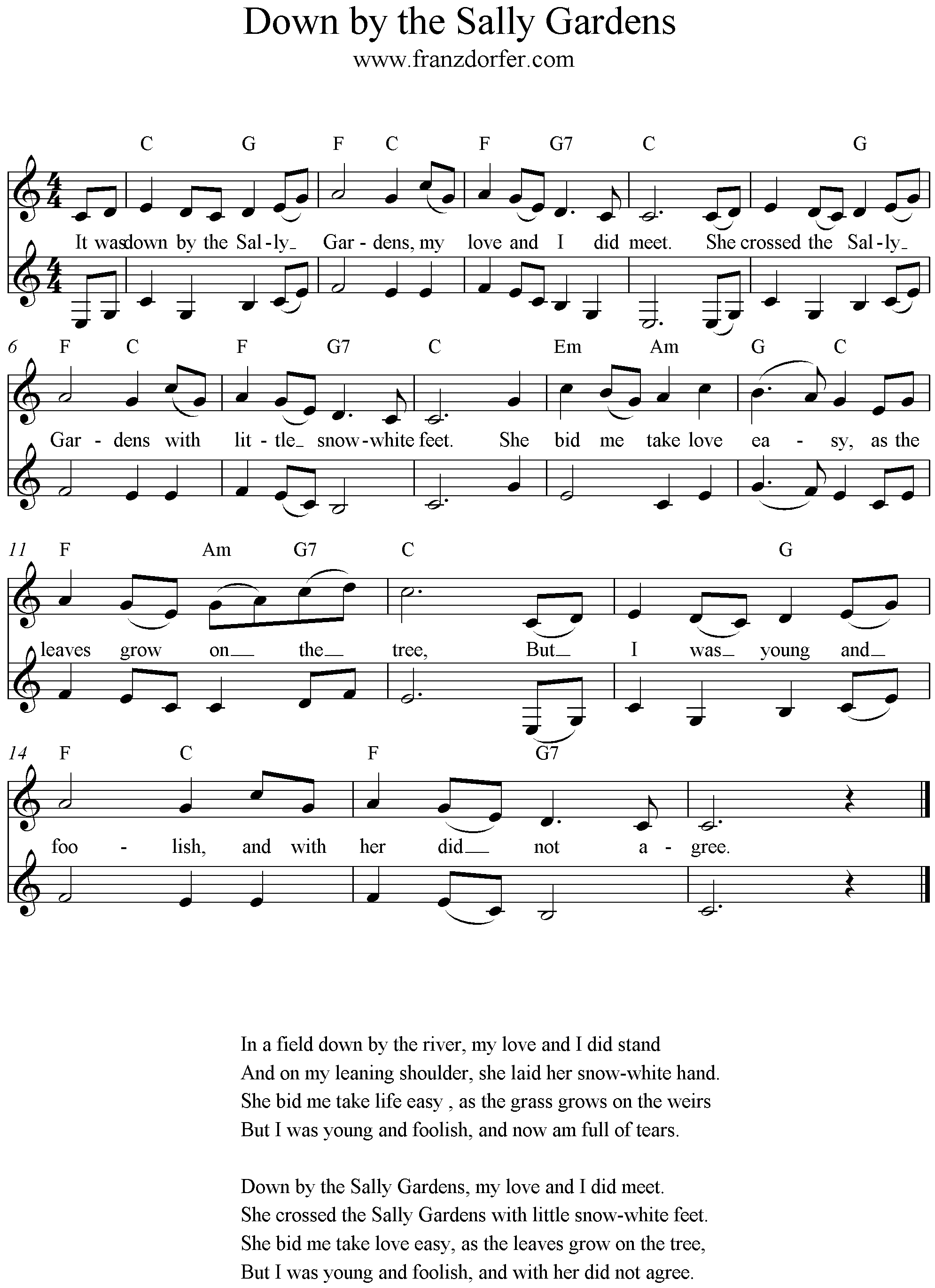 freesheetmusic for Clarinetsheetm
