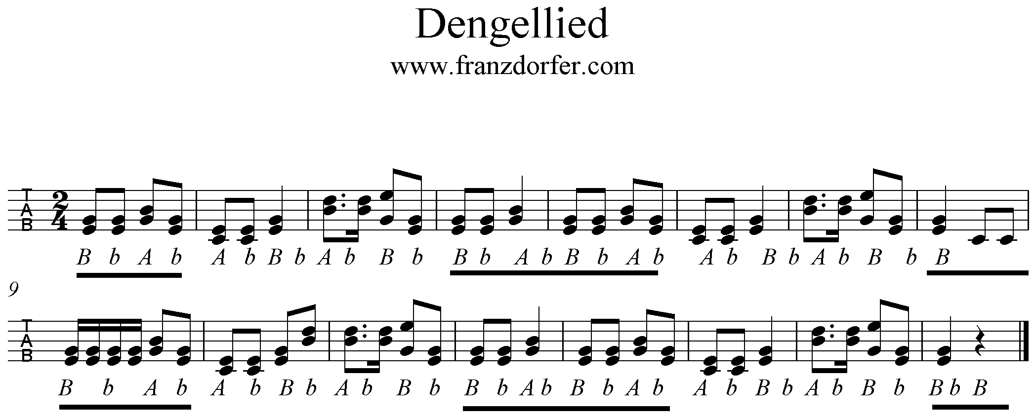 Mecklenburglied Text