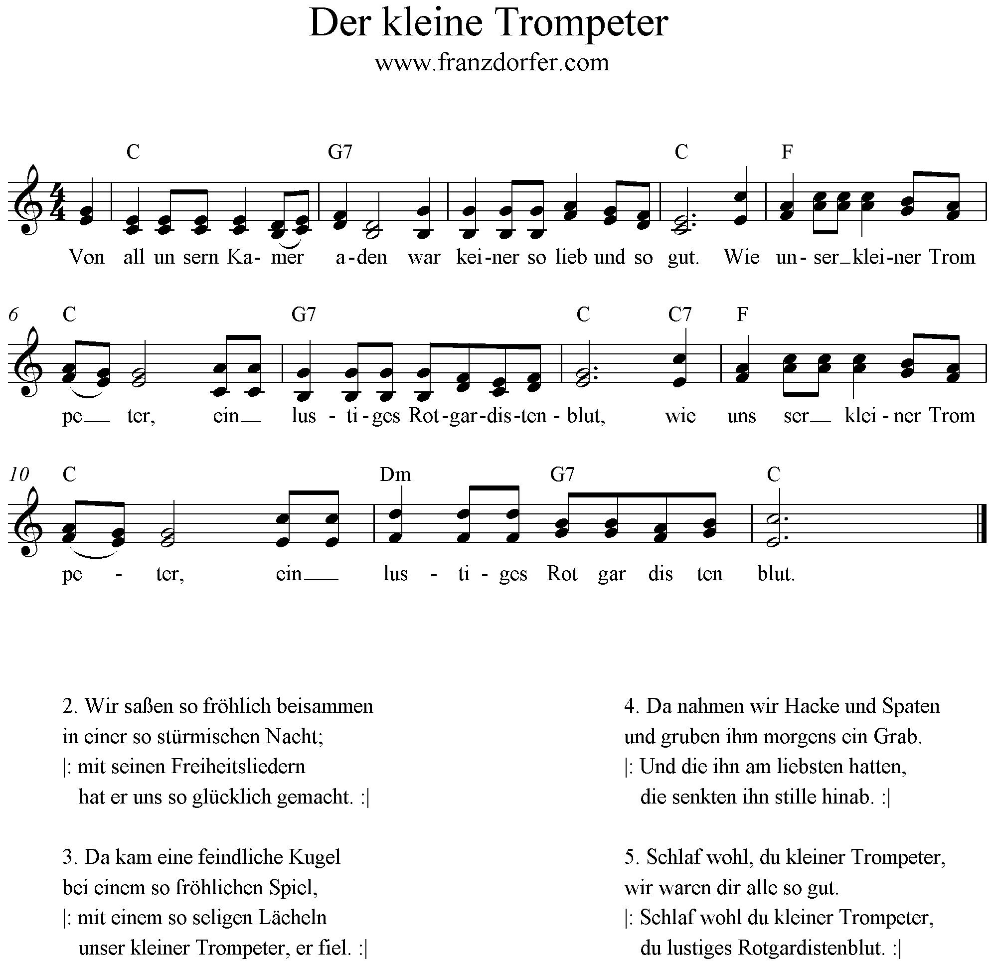 Kleiner Trompeter