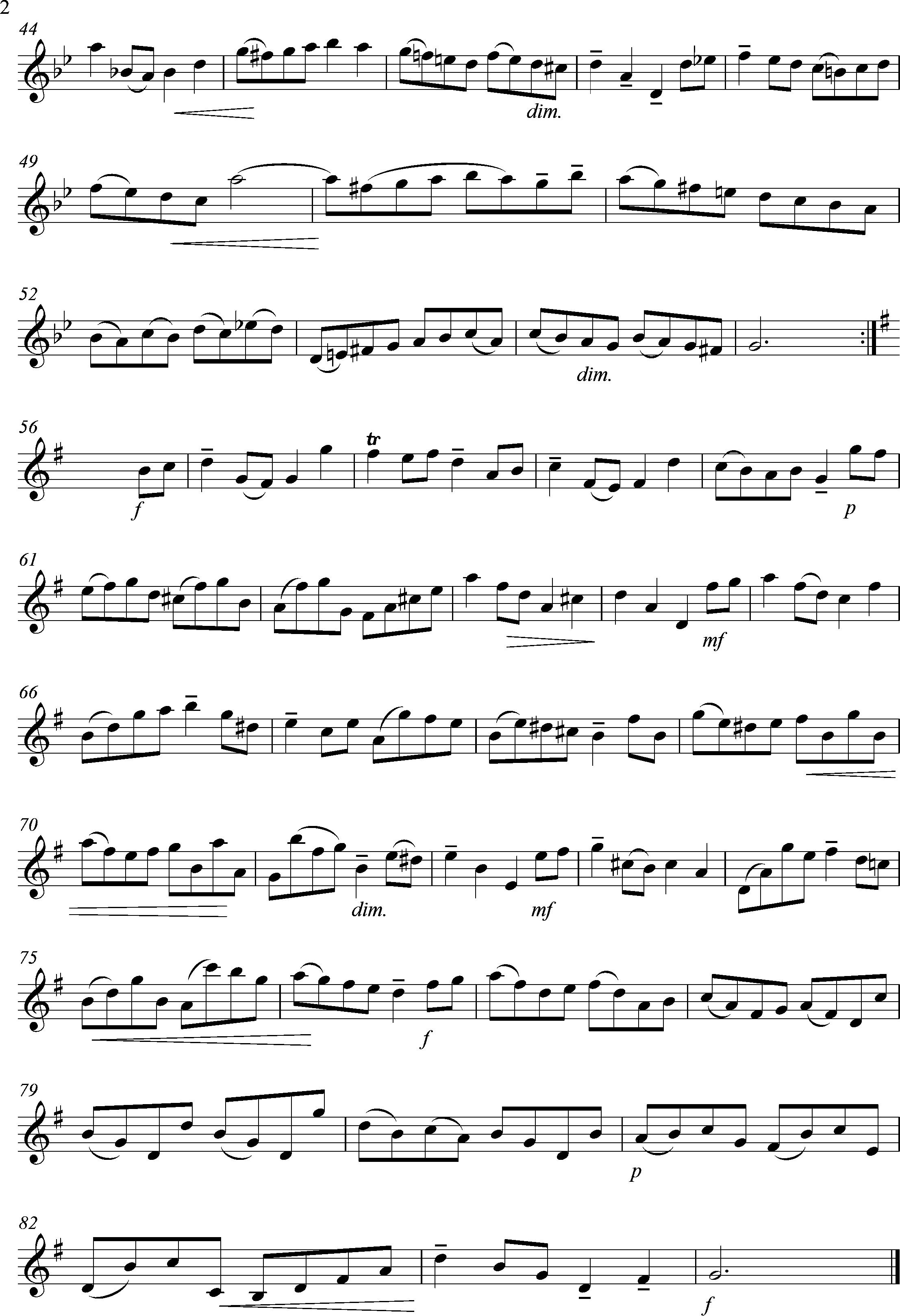 page 2 - Bourree- Cellosuite Bach