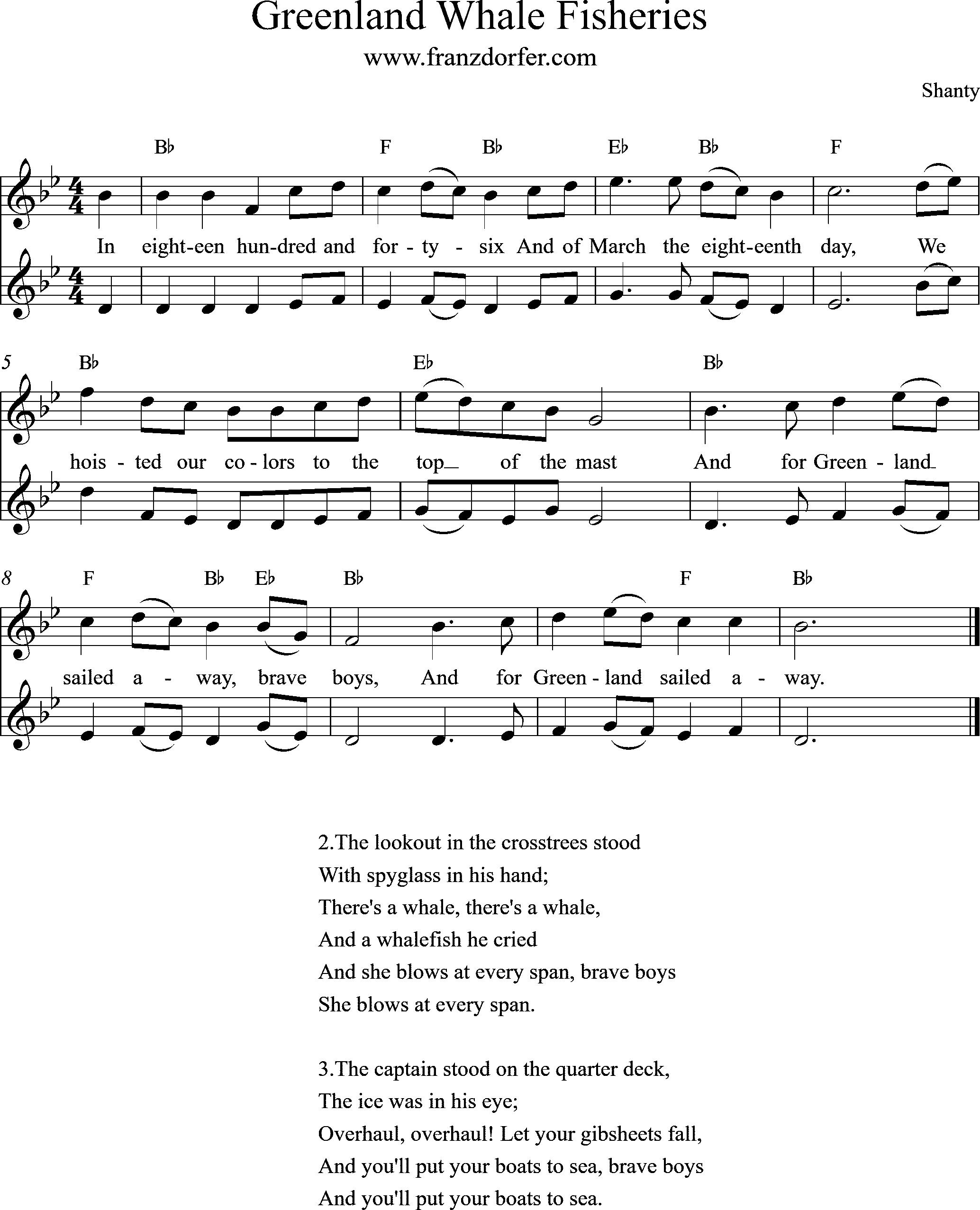 clarinet, Greenland