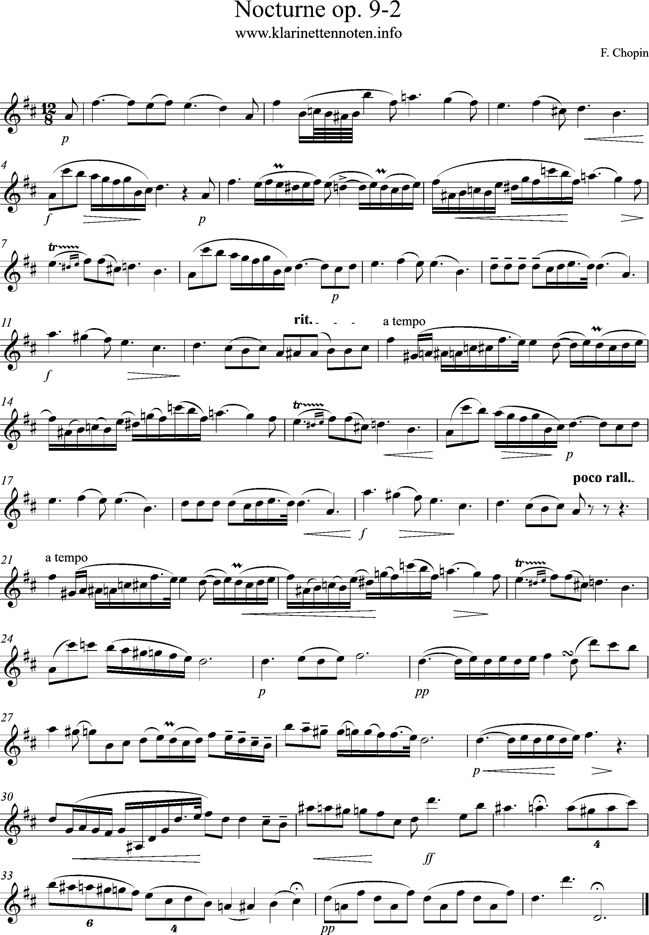Chopin, Nocturne