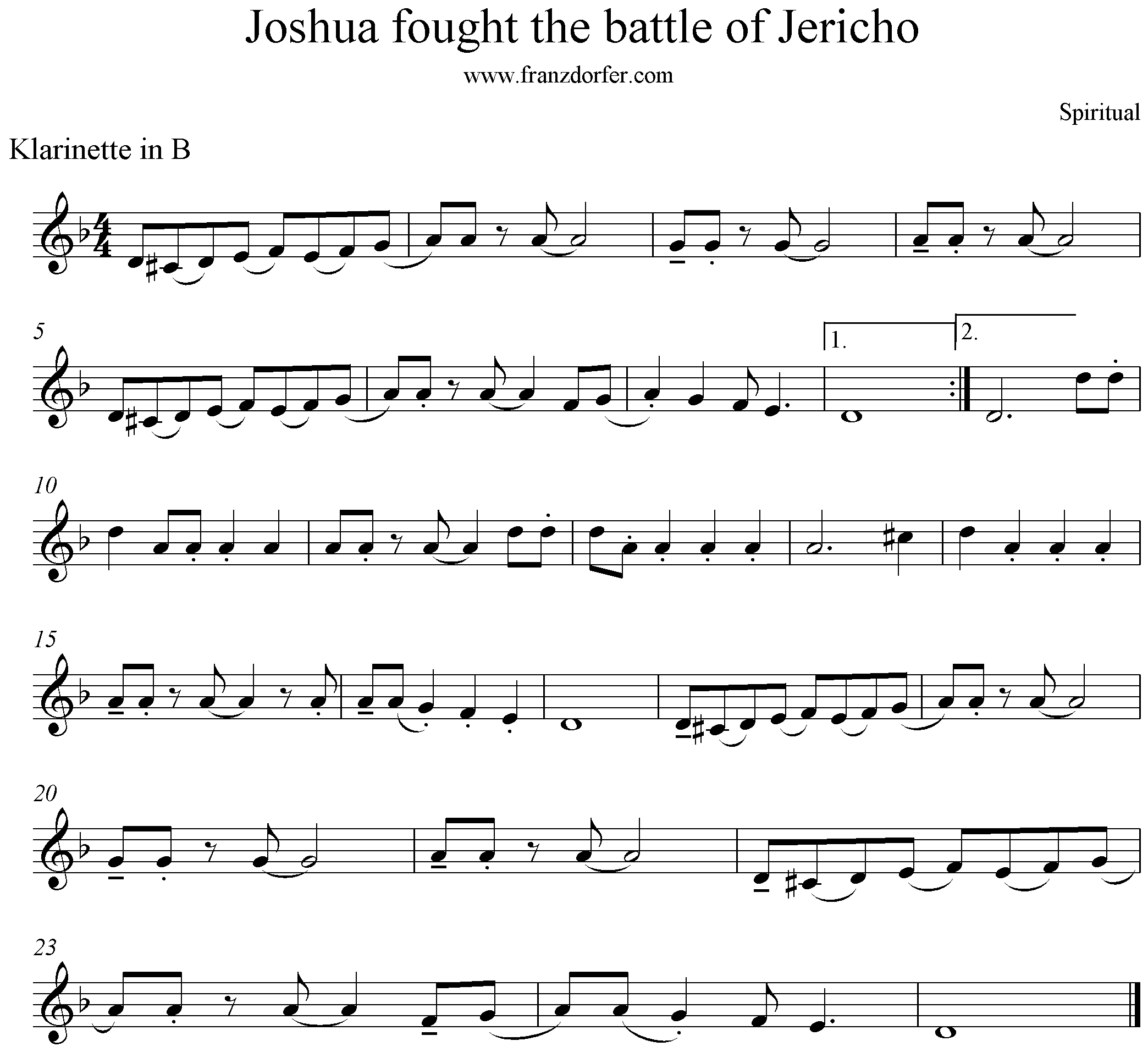 sheet joshua fit the battle of jericho